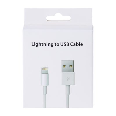 Wholesale iPhone Lightning Cable With Retail Packaging
